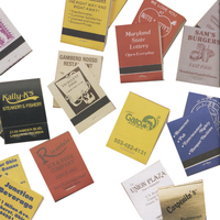 Stock Color 20-Stem Matchbooks