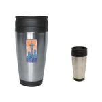 14oz Stainless Steel Tumbler, four color process