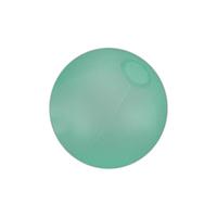 Opaque color beach ball
