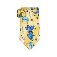 Wine Country Novelty Beverage Tie
