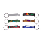 Deluxe aluminum can and bottle opener