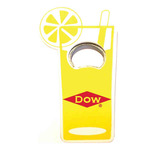 Jumbo size soft drink cup shape magnetic bottle opener