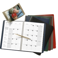 Monthly Planner with Tabbed Telephone/Address Section