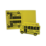 School Bus Puzzle Organizer