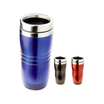 Tumbler with slide action with slide lid