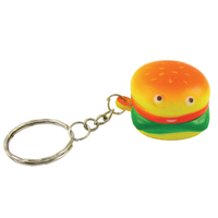 Stress reliever - Hamburger Key Chain