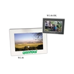 Silver/Black picture frame