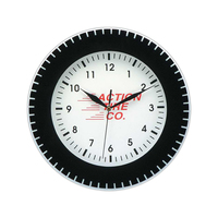 "12"" Custom Bezel Wall Clock"