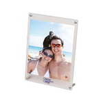 Frosted-Border Picture Frame