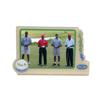 Gold Easel Picture Frame