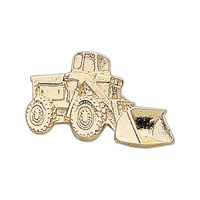 Front-End Loader Lapel Pin