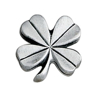 Four-Leaf Clover Lapel Pin