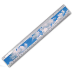 Lenticular ruler