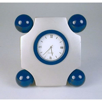Art Deco Clock with Four Balls