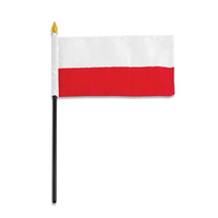 "Poland Country Flag 4"" x 6"""