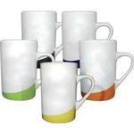 Mug with slash accent color
