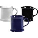 Corporate solid color mug