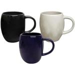 16 oz. Solid Glossy Barrel Mug