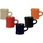Cream color diner mug