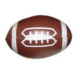 "Soft squeezable football, 5"" - E663FT"