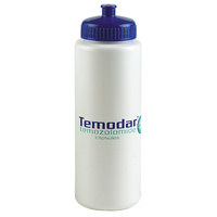 Sports bottle with push-pull lid