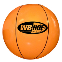 "Inflatable Basketball, 16"" - E622"