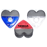 Jumbo size heart shape memo clip