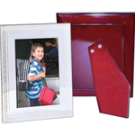"""Marvin Photo Frame with Wood Back, 5"""" X 7"""""""