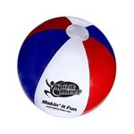 "Official Size Beach Ball, Large 16"" - E619RWB"