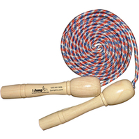 Jump Rope With Wooden Handles - E 977