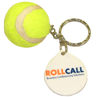 Tennis Ball Keychain - E605