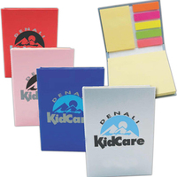 Mini-Book with Sticky Flags and Two Sticky Notepads