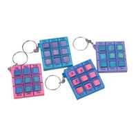 Pocket Tic-Tac-Toe Keychain
