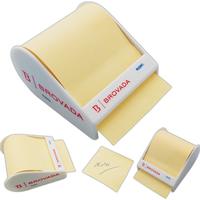 Sticky note roll-up distributor