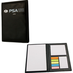 Leather Look Pad with Sticky Flags and Notepads