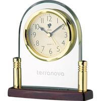 Analog Clock in an Arched Frame
