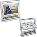 Clock Picture Frame, Thermometer & Dry Erase Board