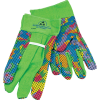 Multi-Colored Cotton Work Glove