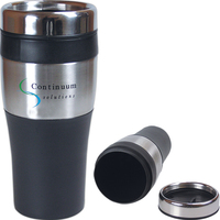 Silver accent thermal tumbler