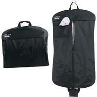 Suit bag with external pocket