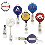 LARGE FACE BADGE REEL W/LANYARD ATTACHMENT