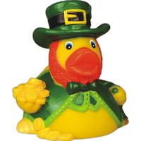 Rubber leprechaun duck