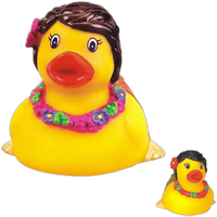 Rubber hula duck