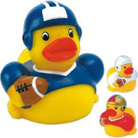 Rubber football duck