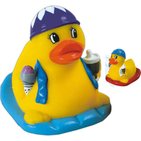 Rubber pool party duck