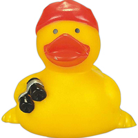 Rubber pirate duck