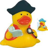 Rubber navigator pirate duck