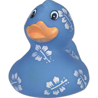 Rubber pretty in blue duck