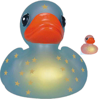 Rubber star-gazer duck
