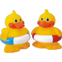 Rubber tubby tube duck